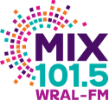 WRAL Digital Solutions MIX 101.5 Logo